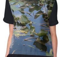 Lakeside Lily Pads Chiffon Top