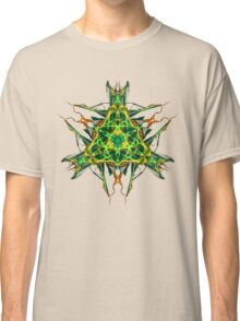 Energetic Geometry-  Abstract Pentacle Symbol for Earthen Connection Classic T-Shirt