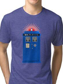 Japanese TARDIS Tri-blend T-Shirt