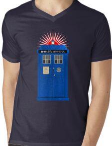 Japanese TARDIS Mens V-Neck T-Shirt