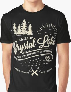 Camp Crystal Lake Graphic T-Shirt
