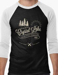 Camp Crystal Lake Men's Baseball ¾ T-Shirt