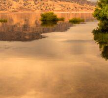 Lake Kaweah California Sticker