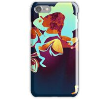 Orchid Oxide - Floral Geometry Study  iPhone Case/Skin