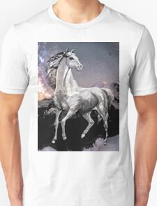 Horse: Live Free or Die Unisex T-Shirt