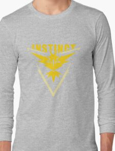 Team Instinct - Pokemon Go Long Sleeve T-Shirt
