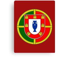 Portugal - Euro 2016 Champions Canvas Print