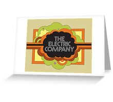 Electric Company Greeting Card