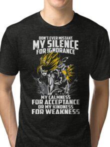 super saiyan gohan shirt - RB00448 Tri-blend T-Shirt