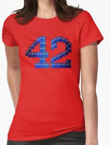 TARDIS in 42 Womens Fitted T-Shirt
