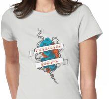 Molecular Badass Tattoo Womens Fitted T-Shirt