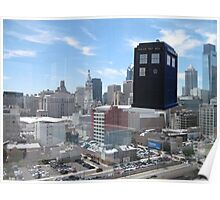 TARDIS Over Philly Poster