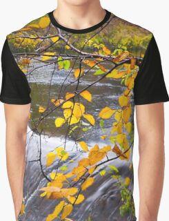 Looking through the Yellow ~ Montmorency River Graphic T-Shirt