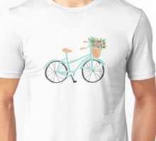 Baby Blue Bicycle Unisex T-Shirt