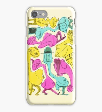 Ducks be Creepin' iPhone Case/Skin