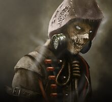 Arkham Scarecrow by Landon Cassell
