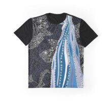 Black Saguaro Graphic T-Shirt