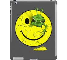 Happy Alien Face iPad Case/Skin