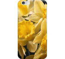Bouquet of Bright Yellow Daffodils iPhone Case/Skin