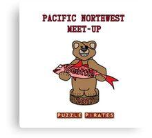 Puzzle Pirates Pacific Northwest Meet-up Seattle 2017 Canvas Print