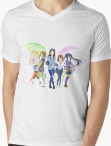 Minimalist K-On!  Mens V-Neck T-Shirt