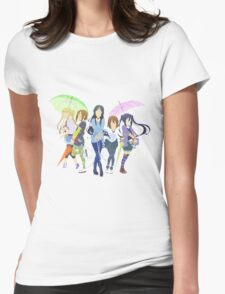 Minimalist K-On!  Womens Fitted T-Shirt