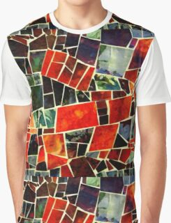Bits and Pieces Paper Mosaic Graphic T-Shirt