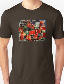 Bits and Pieces Paper Mosaic Unisex T-Shirt