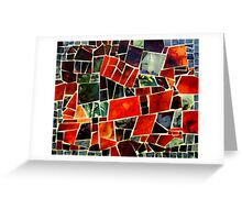 Bits and Pieces Paper Mosaic Greeting Card
