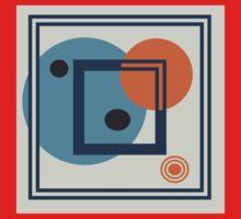 Orbit 4 by Anne Winkler Kids Tee