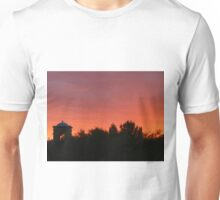 Red Sunset in Arizona Unisex T-Shirt