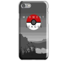 Midwest League Pokemon Trainer iPhone Case/Skin