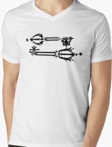 Oblivion and Oathkeeper Mens V-Neck T-Shirt
