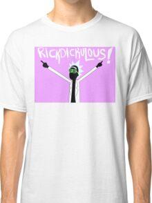 RICKDICKULOUS! - White Classic T-Shirt