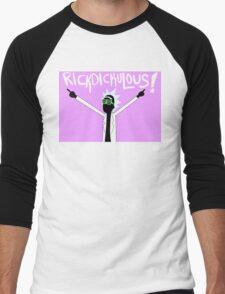 RICKDICKULOUS! - White Men's Baseball ¾ T-Shirt