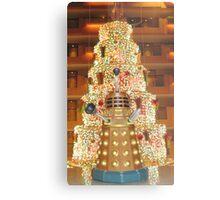 Dalek Christmas Metal Print