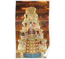 Dalek Christmas Poster