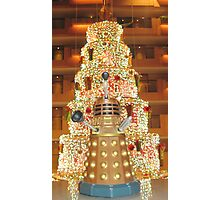 Dalek Christmas Photographic Print