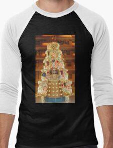 Dalek Christmas Men's Baseball ¾ T-Shirt