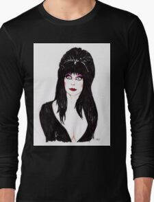 Elvira Mistress of the Dark Long Sleeve T-Shirt