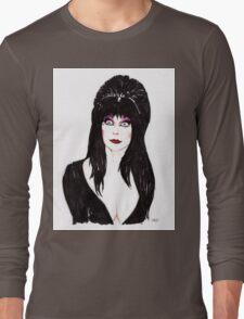 Elvira Mistress of the Dark Long Sleeve T-Shirt