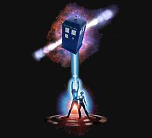 TARDIS TRON Unisex T-Shirt