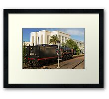 City of Melbourne Steam Train #6 Framed Print