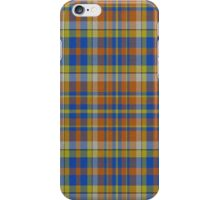 02349 Nassau County, New York Fashion Tartan  iPhone Case/Skin