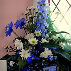 A Blue and White Arrangement by lezvee