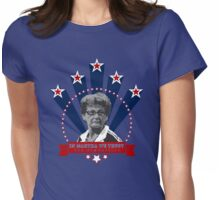 In Martha We Trust Womens Fitted T-Shirt