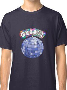 70s disco ball groovy Classic T-Shirt