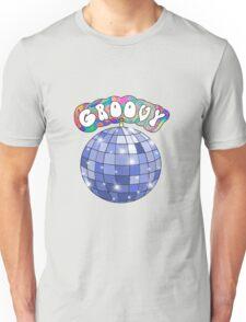 70s disco ball groovy Unisex T-Shirt