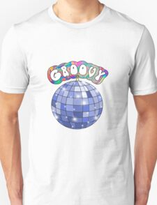 70s disco ball groovy Unisex T-Shirt