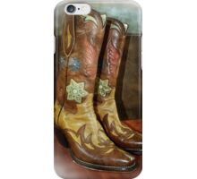 Take A Walk in My Boots iPhone Case/Skin